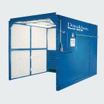 ECB work station cartridge dust collectors