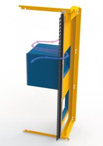 шасси с боковым выхлопом для промышленных систем кондиционирования