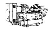 чиллеры с водяным охлаждением конденсаторов